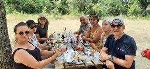 Pique-nique au colorado provencal